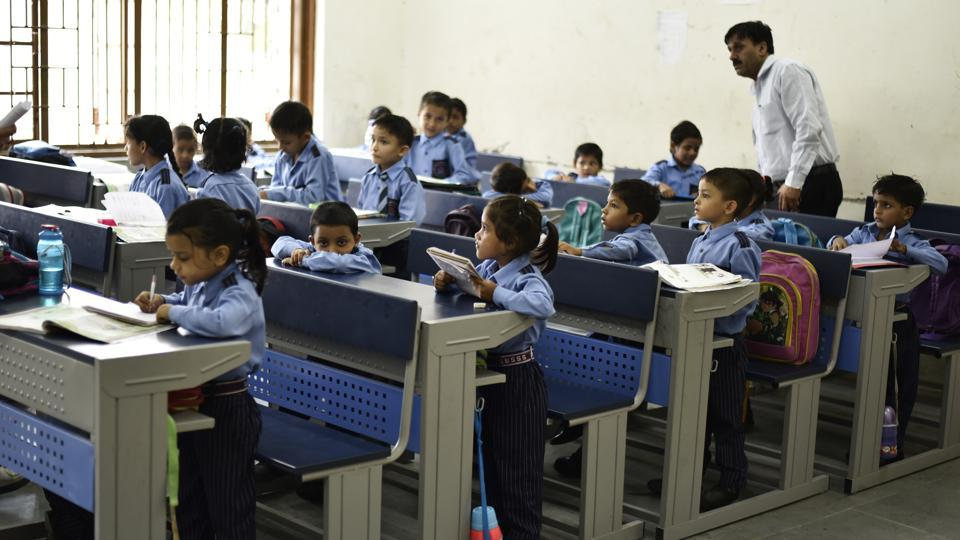 The government Sarvodaya co-ed senior secondary school in Rohini Sector 21, which was opened on April 1, boasts of a swanky building with 69 rooms, including yoga room, music room, mathematics laboratory, and science laboratory.