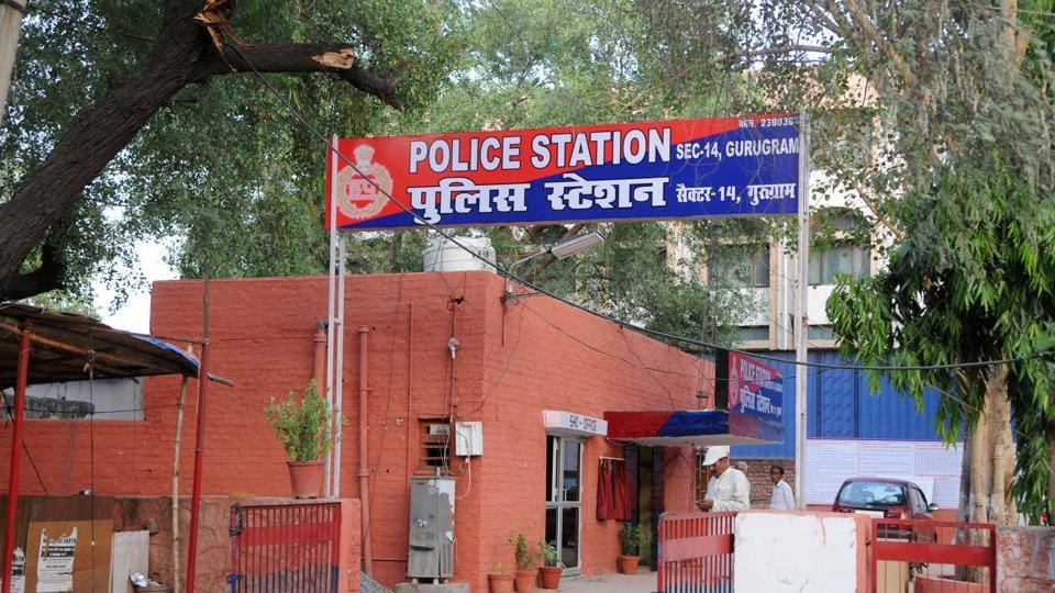 A case has been registered at the Sector 14 police station. Police are trying to trace the car.