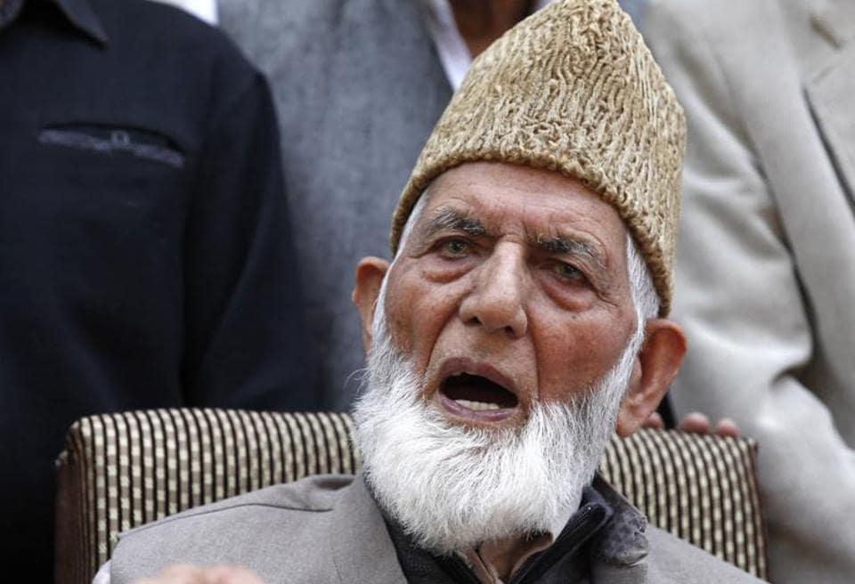 Separatists,Kashmir separatists,Geelani