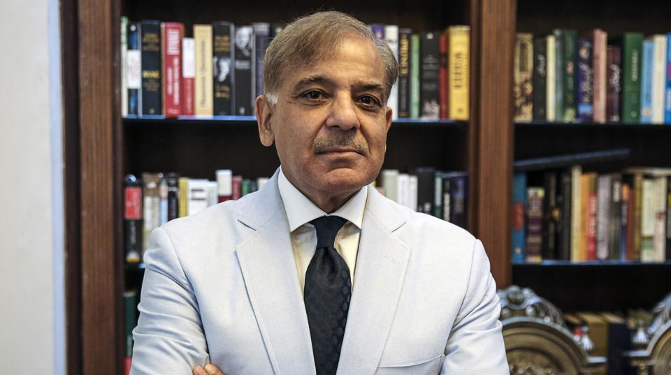 Shehbaz Sharif, Pakistan's chief minister of the province of Punjab, poses for a photograph after an interview in Lahore, Pakistan, on June 13, 2017.