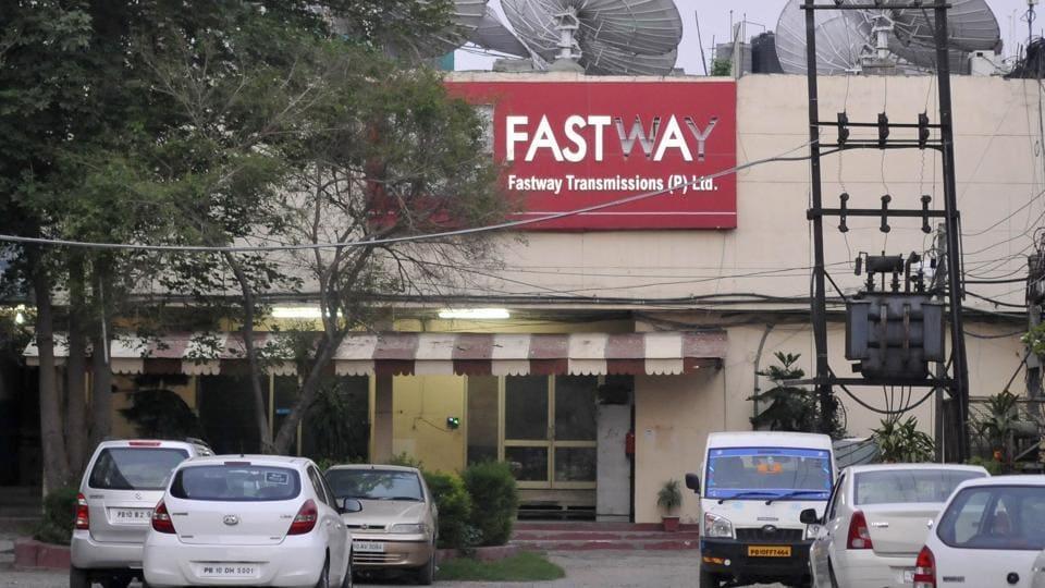 The Fastway office in Ludhiana.