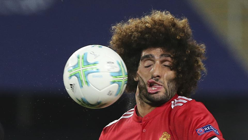 This picture of Marouane Fellaini made him a viral sensation on Twitter.