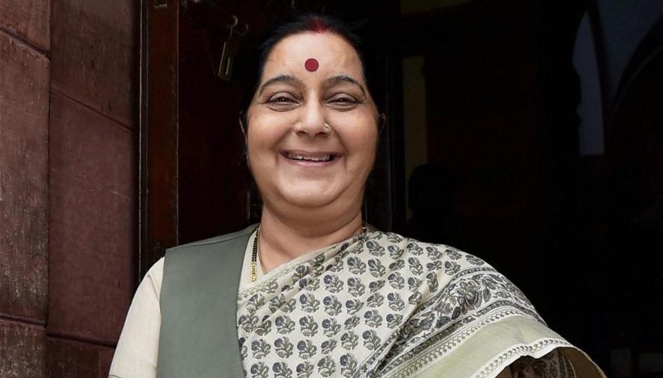 Sushma Swaraj,Dhaka,Bangladesh-India Joint Consultative Commission