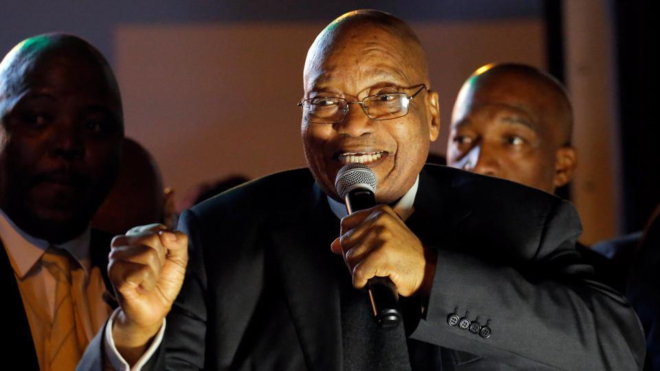 Jacob Zuma,No confidence motion,South Africa