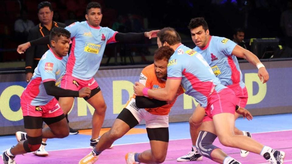 Pro Kabaddi League 2017,Jaipur Pink Panthers,Puneri Paltan
