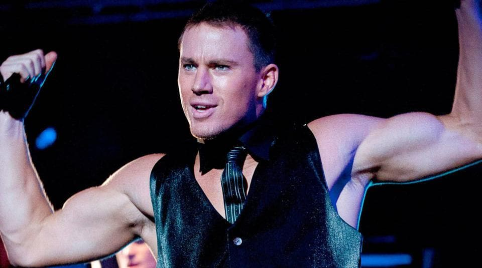 Channing Tatum in a still from Magic Mike.