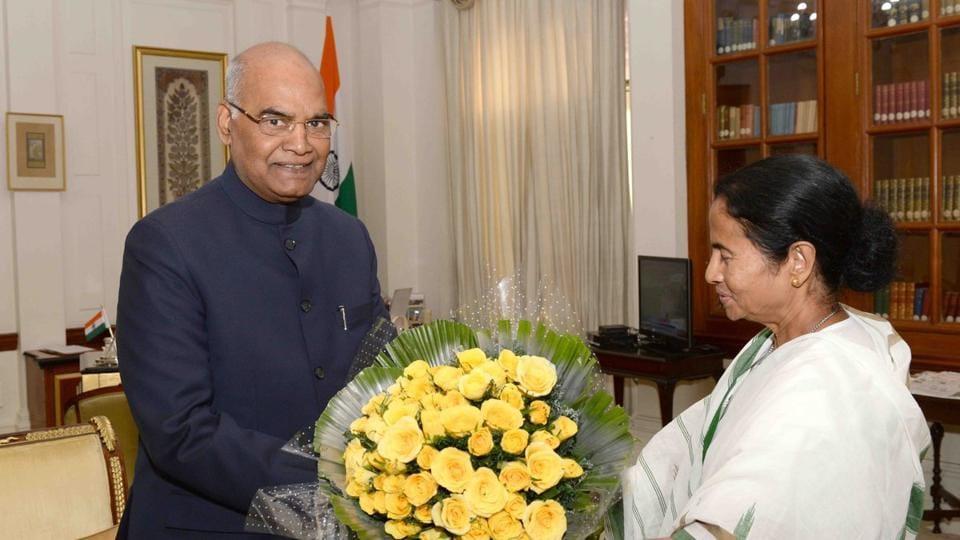 Mamata Banerjee,Ram Nath Kovind,President ram Nath Kovind