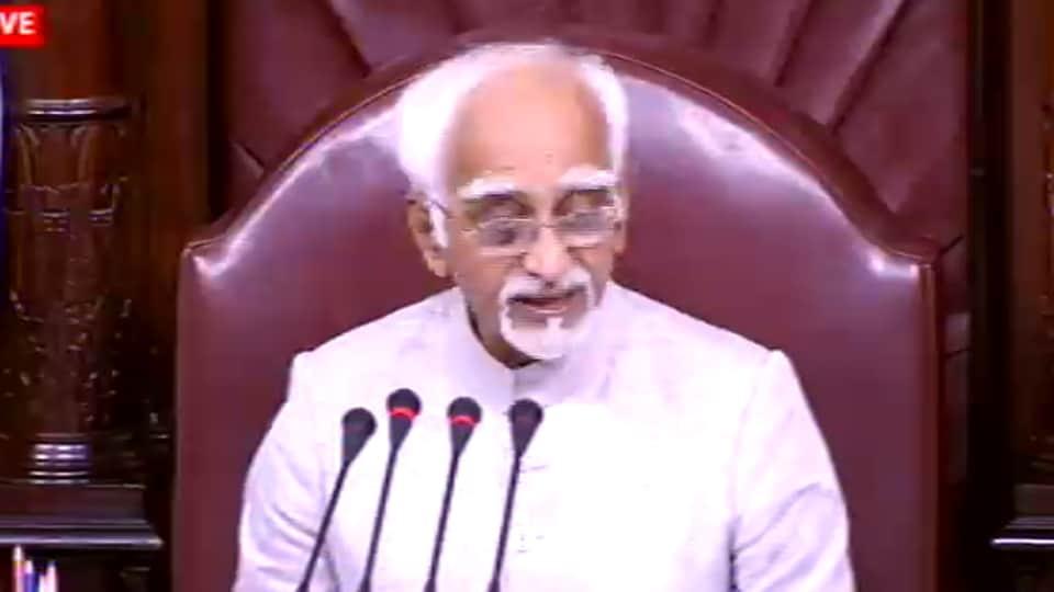 Parliament,Rajya Sabha,Hamid Ansari