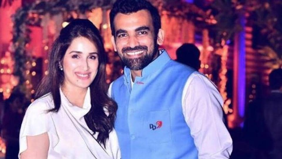 Sagarika Ghatge and Zaheer Khan had an engagement party after IPL 10 tournament got over.