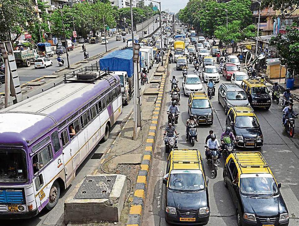 Mumbai traffic police,Eastern Freeway,Eastern Express hIGHWAY