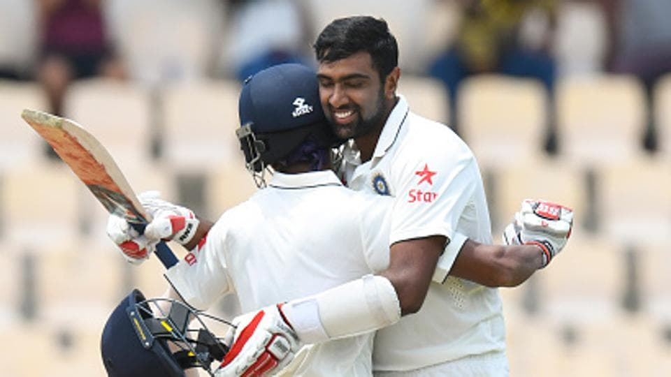 Wriddhiman Saha (L), Ravichandran Ashwin, Ravindra Jadeja and Hardik Pandya  have made crucial knocks for Indian cricket team, coming lower down the order, easing the pressure on the top batsmen as well as ensuring big totals against opponents.