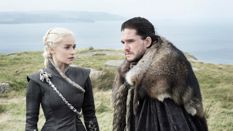 Daenerys has made it back to Dragonstone it seems.