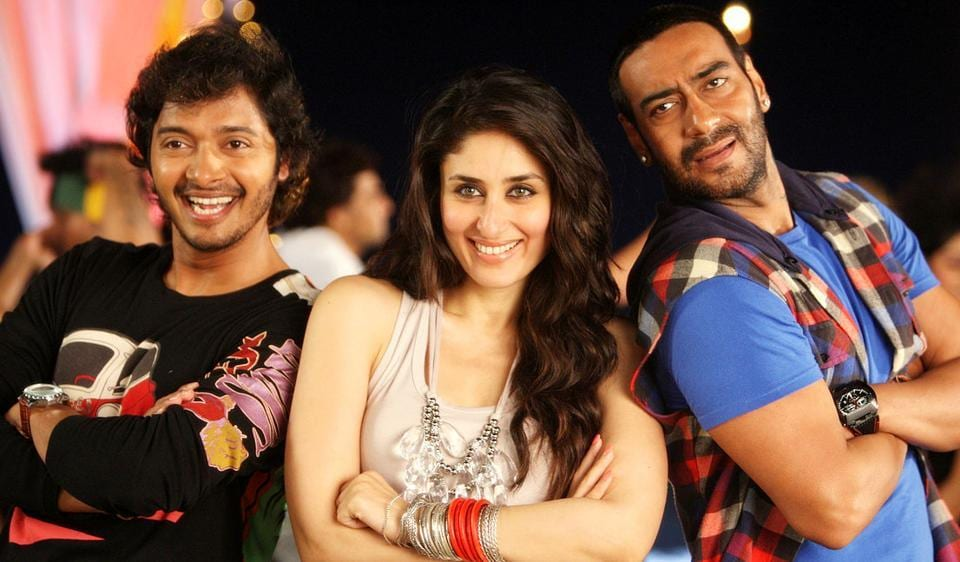 Kareena Kapoor has featured in two films from Rohit Shetty's Golmaal franchise.