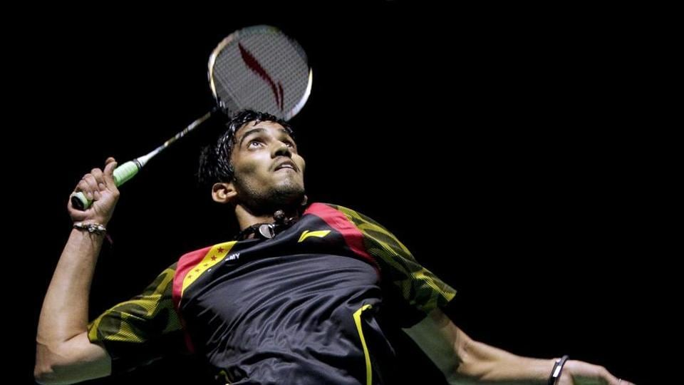 Kidambi Srikanth is India's highest ranked male badminton player at eight.