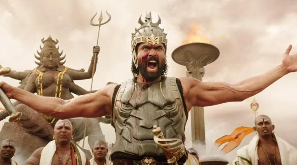 Baahubali's overall collections  in 100 days stand at Rs 1700 crore. Rana Daggubati as Bhallaladeva in Baahubali 2 :The Conclusion.