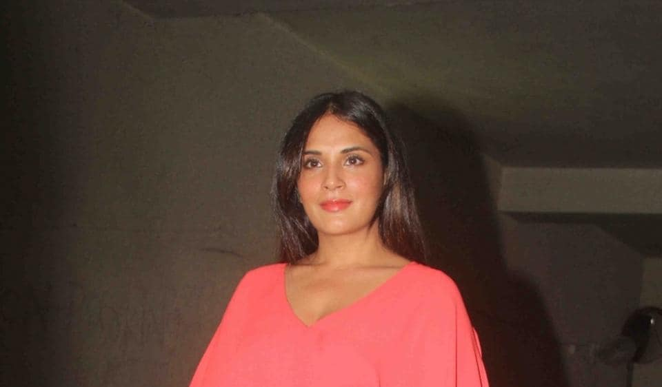 Richa Chadda during the special preview of Fukrey Returns.