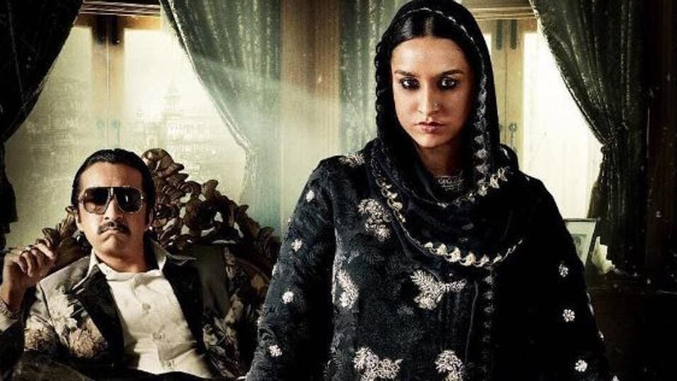 Shraddha Kapoor and brother Sidhanth on the poster of Haseena Parkar.