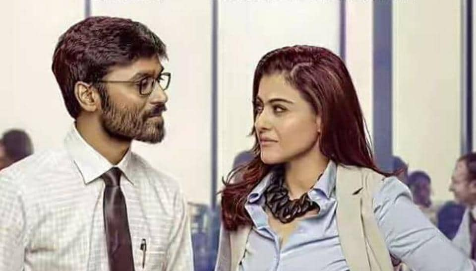 VIP 2 stars Dhanush and Kajol who are pitted against each other.