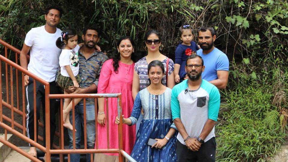 Indian cricket team members took some time out to visit Nuwara Eliya with their families ahead of the third Test in Kandy.
