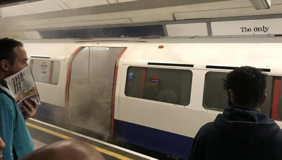 """British Transport Police said its officers were on the scene but the cause """"is not currently being treated as suspicious."""""""