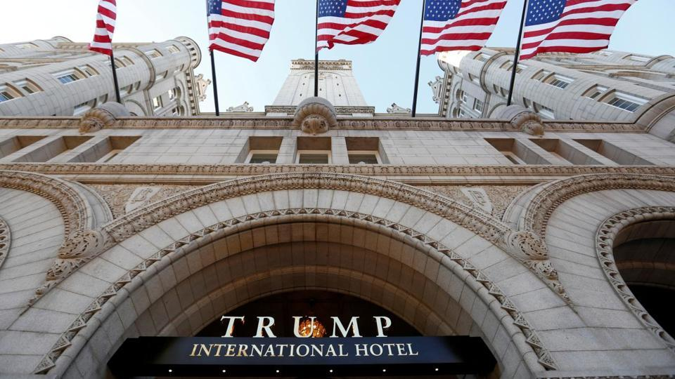 Trump DC hotel boosted rates after inauguration