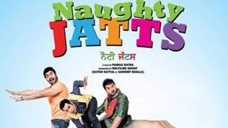 In 'Naughty Jatts' (2013), not one but three boys are pursuing one girl who doesn't seem to notice it at all. The whole story is about wooing her.