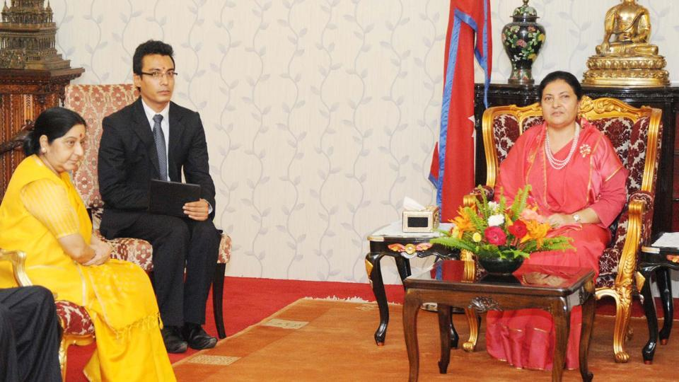 India-Nepal relations,Sushma Swaraj,Madhesi parties