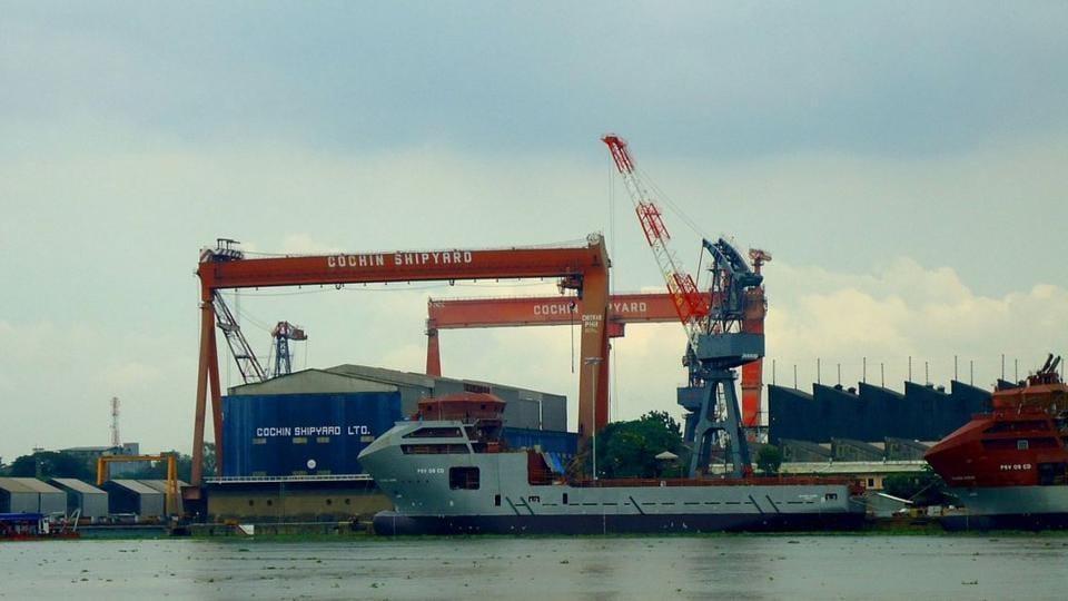 Kochi,Cochin Shipyard,BSE