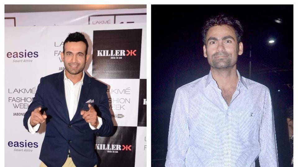 Cricketers Irfan Pathan (L) and Mohammad Kaif have been targeted by trolls on social media.