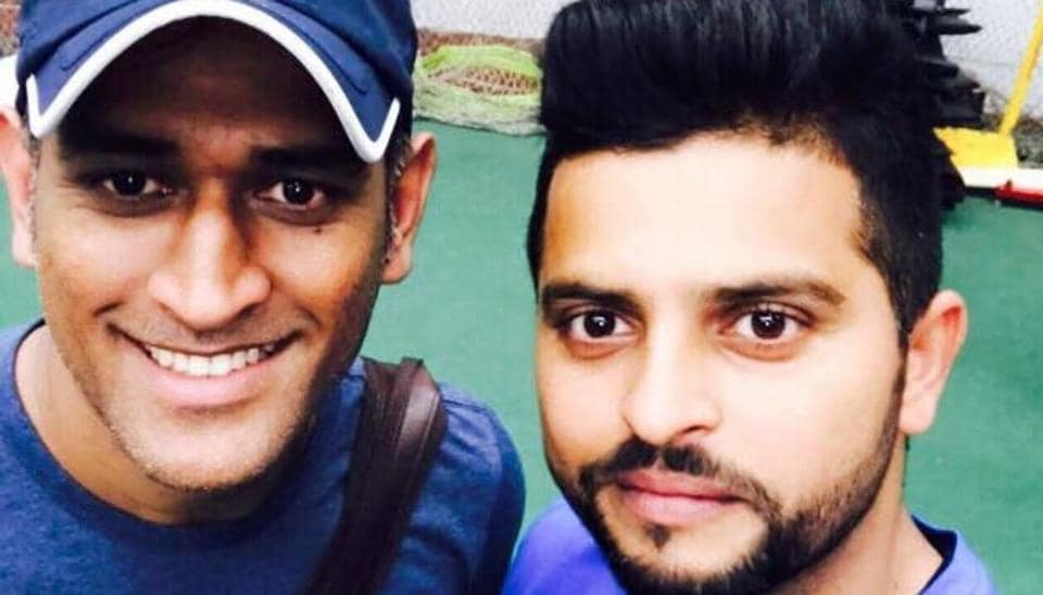 MS Dhoni and Suresh Raina are training hard at the National Cricket Academy (NCA) ahead of India's five-ODI series against Sri Lanka, starting August 20.
