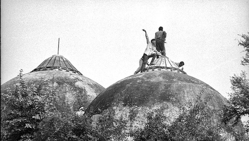 The Babri Masjid at Ayodhya was demolished by Hindu radicals on December 6, 1992.