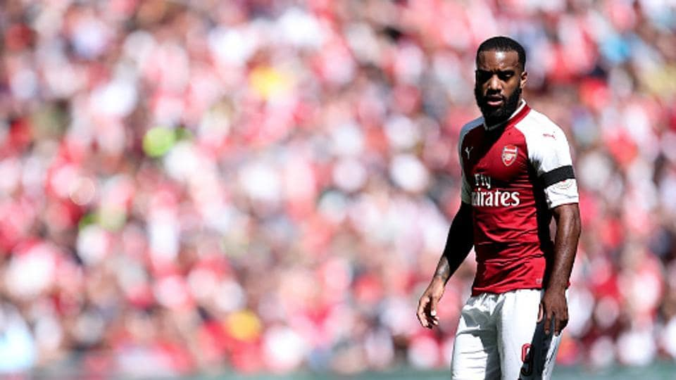 Alexandre Lacazette arrived at Arsenal from Lyon this summer, and will hope to propel the club back to the Champions League next season. (Getty Images)