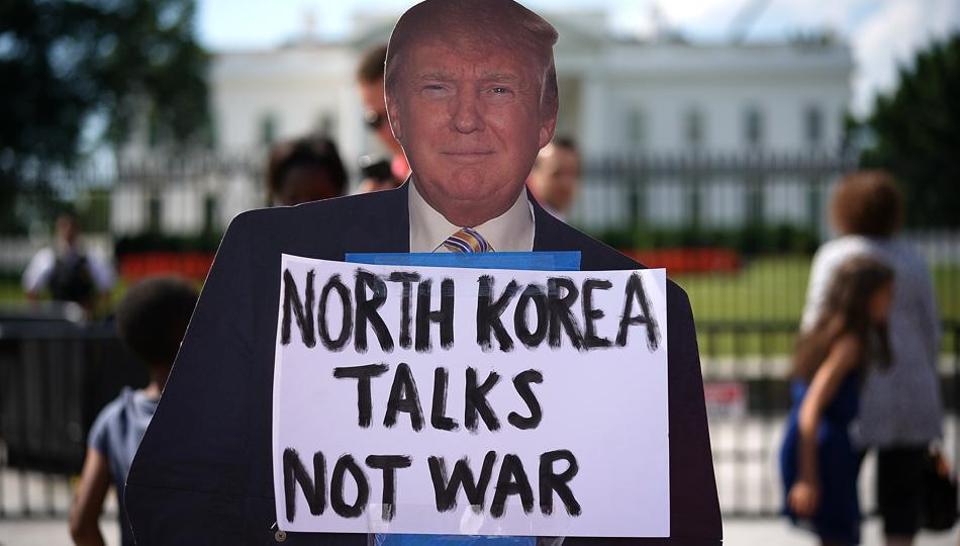 Donald Trump,US President,North Korea