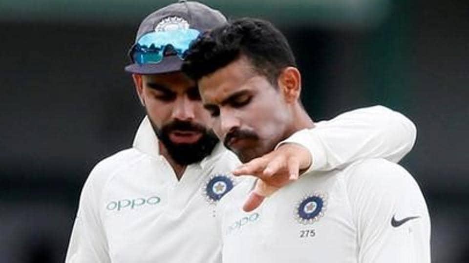 India vs Sri Lanka,Virat Kohli,Ravindra Jadeja
