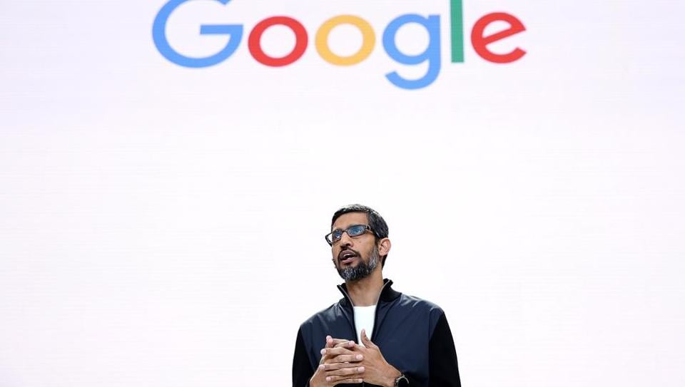 Google CEO Sundar Pichai said there was a place for women at the company after a row over an anti-diversity manifesto.