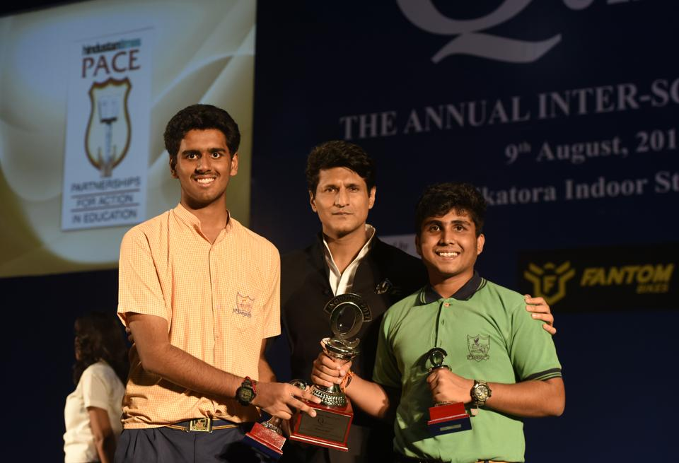 Aditya Verma and Aryaman Shandilya of Delhi's Sanskriti School  won the 17th edition of Inquizitive, the annual inter-school quiz competition organised by HT-PACE.