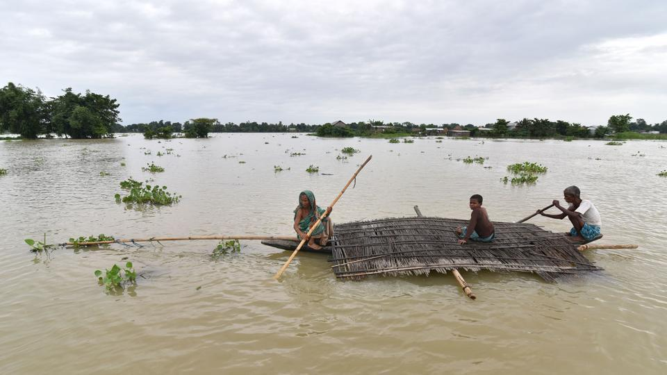 Rapid Rise In Rivers Water Levels In Ne Bengal Bihar