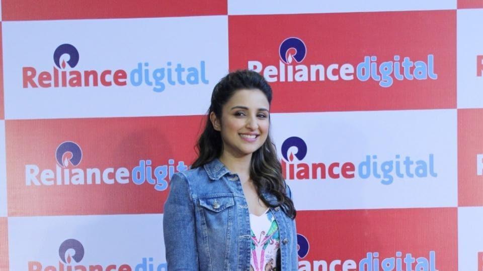 Parineeti Chopra during a programme in Mumbai.