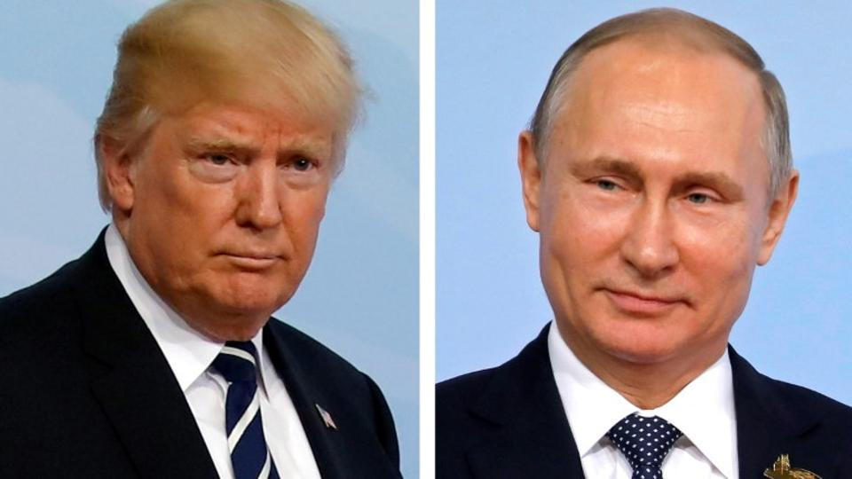 US President Donald Trump has thanked Russian President Vladimir Putin for expelling US diplomats. (REUTERS File Photo)