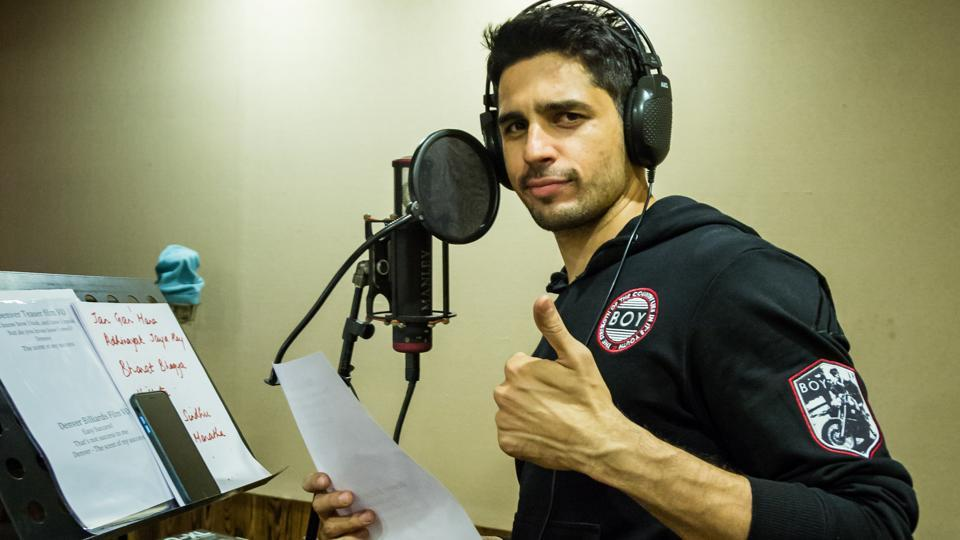 Sidharth Malhotra raps for Bandook Meri Laila.