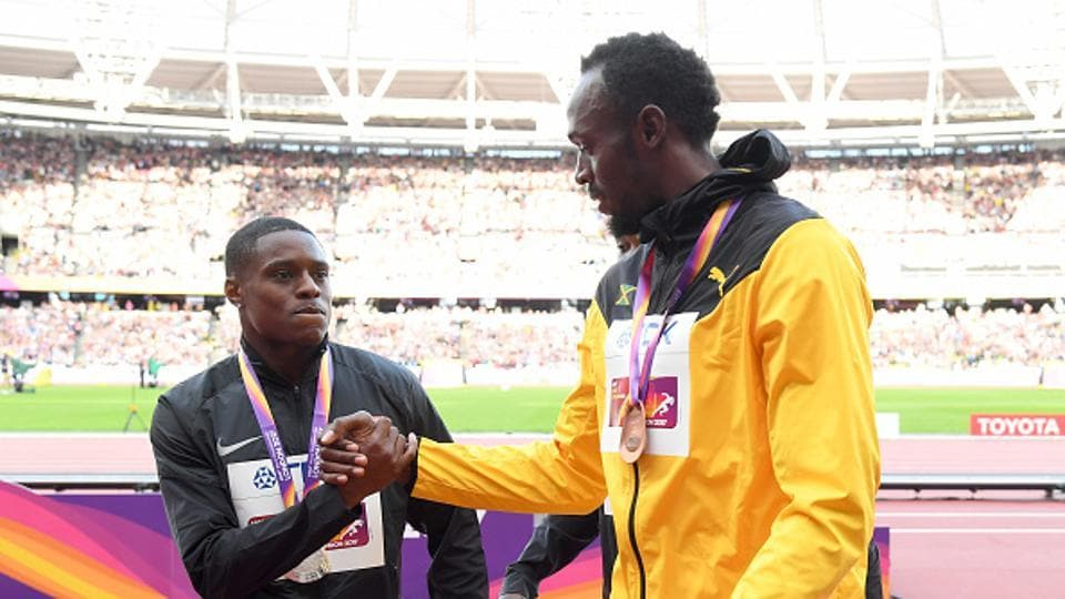 Christian Coleman Determined To Deny Usain Bolt A Golden
