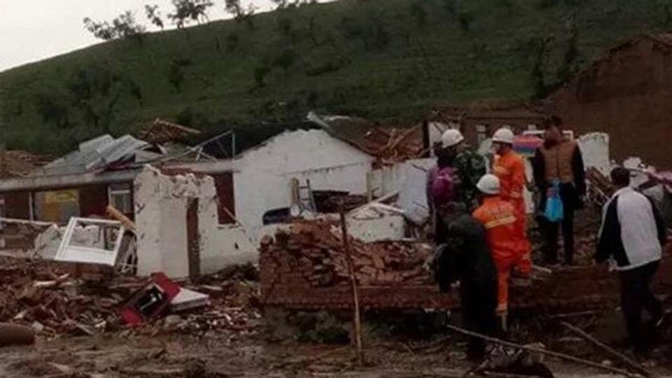 The tornado hit Chifeng, a city about 650 miles east of Hohhot, the capital of the autonomous region, on Friday afternoon.
