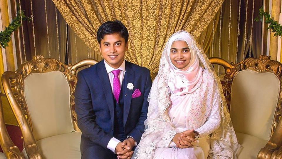 """I was troubled by the singular image of a bride that our society has – with tons of makeup, a weighty dress and mounds of jewellery weighing her down,"""" Tasnim wrote in a Facebook post."""