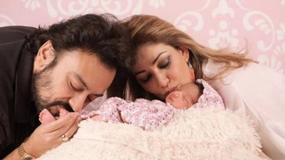 Adnan Sami and wife Roya welcomed their first child, Medina Sami Khan, on May 10, 2017.