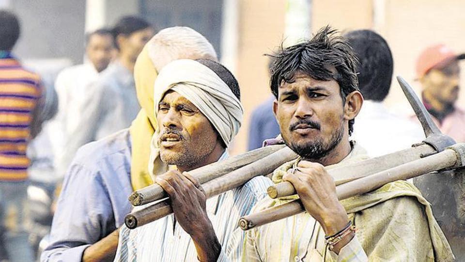 Punjab govt,online registration,labourers