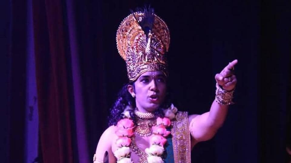 Artist Ashutosh Tarate, says playing the role of Lord Krishna is a responsibility bestowed on him by God.