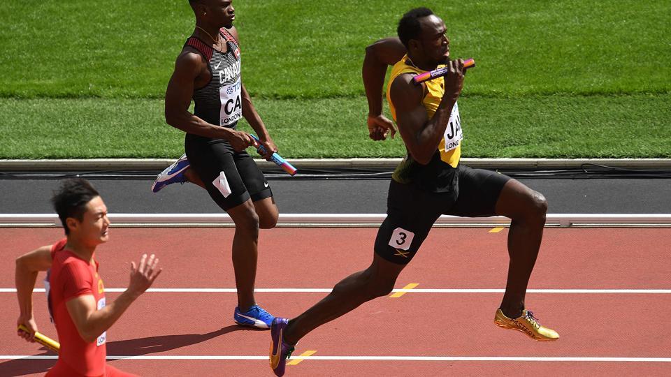 IAAF World Athletics Championships,Usain Bolt,Christian Coleman