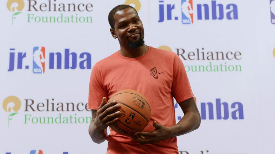 Golden State Warriors star Kevin Durant had visited India for a promotion trip for the NBA late last month.