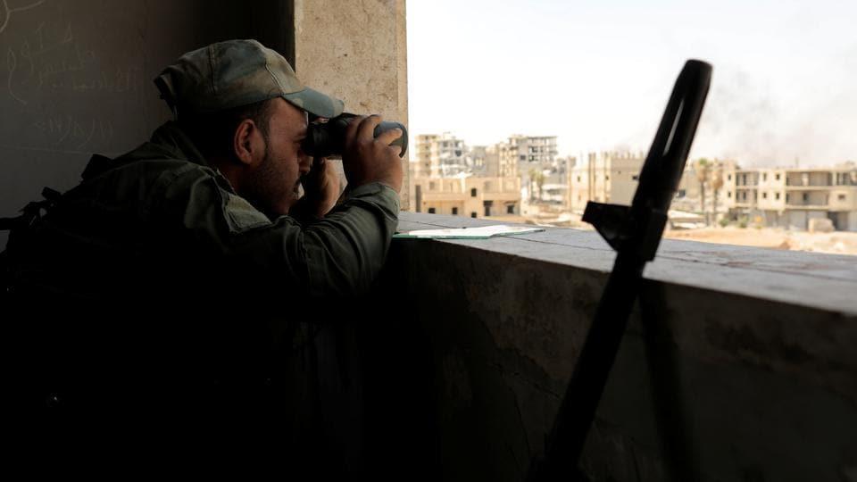 Syria,Syrian Army,ISIS