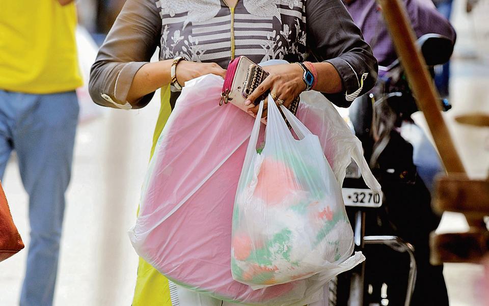 Noida,Noida news,plastic bags